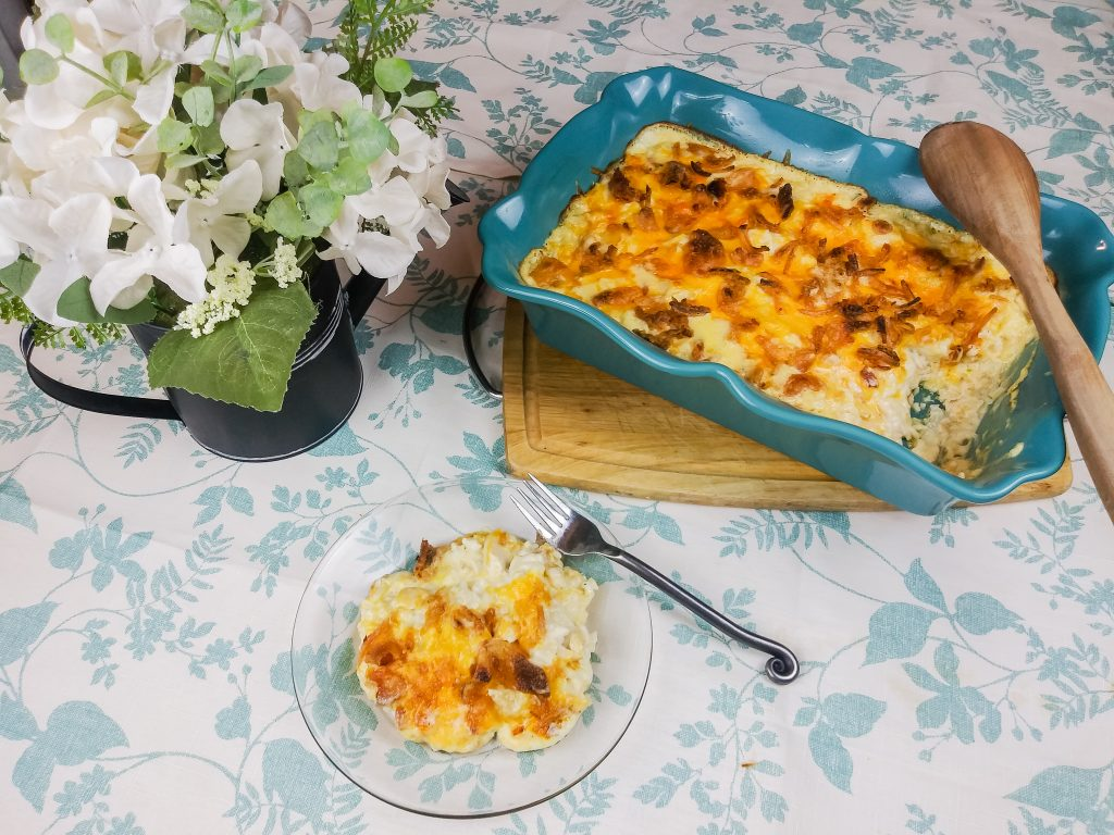 cheesy french onion chicken casserole